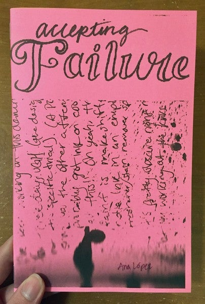 Image of  Accepting Failure by Ana López (Microcosm Pub.)