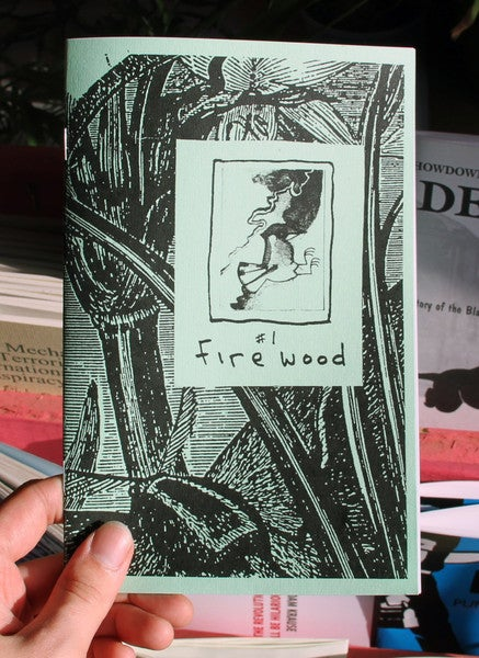 Image of Firewood: Build Your Cabin in the Woods by Sine Firewood (Microcosm Pub.)