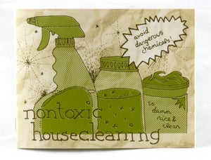 Image of Nontoxic Housecleaning by Raleigh Briggs (Microcosm Pub.)