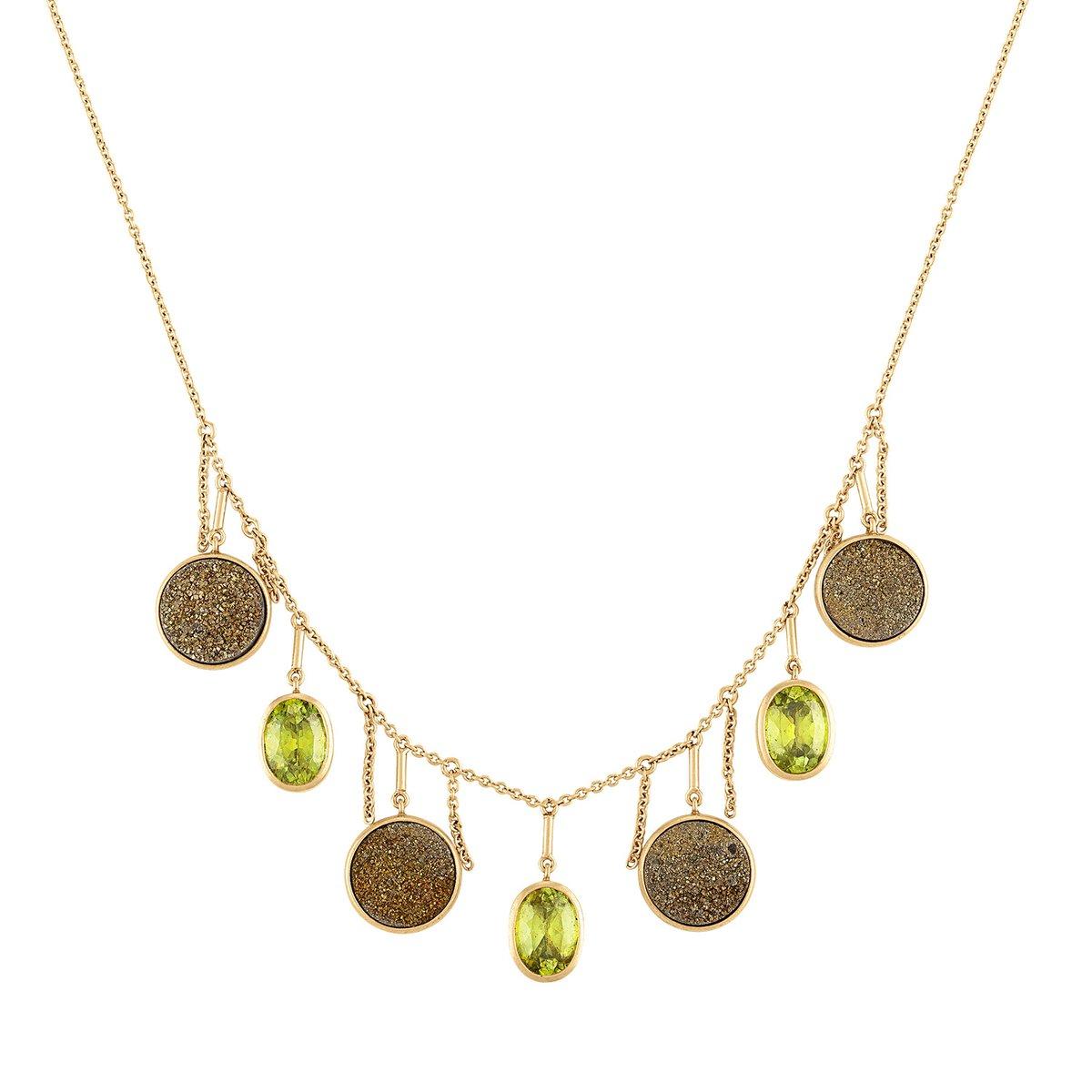Image of Un Hada Fringe Necklace