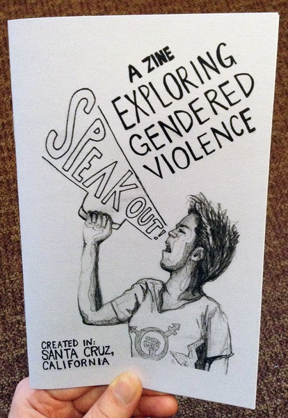 Image of Speak Out!: A Zine Exploring Gendered Violence by Julia Fogelson & Mary Mykhaylova (Microcosm Pub.)