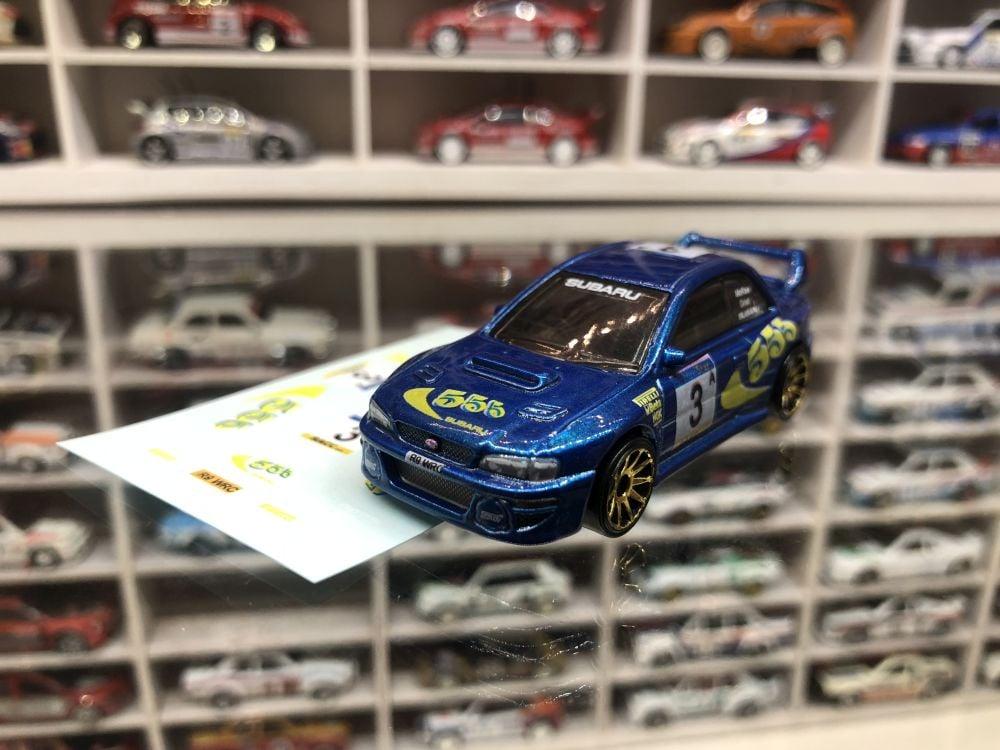 DECALS Subaru Impreza - Colin McRae Impreza WRC