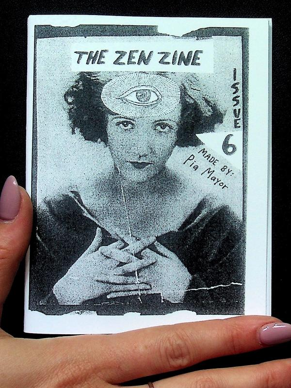 Image of Zen Zine: Cultivating Inner Harmony for an Age of Absurdity by Pia Mayor (Microcosm Pub.)