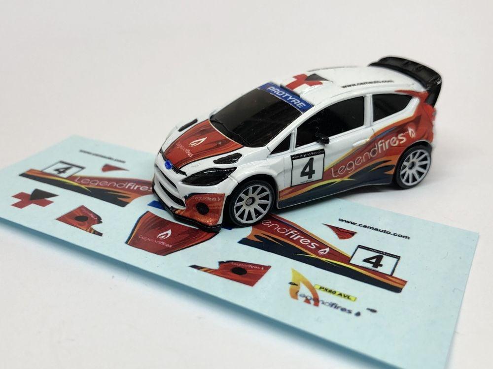 DECALS Fiesta WRC - John Stone - no event, 2019 livery
