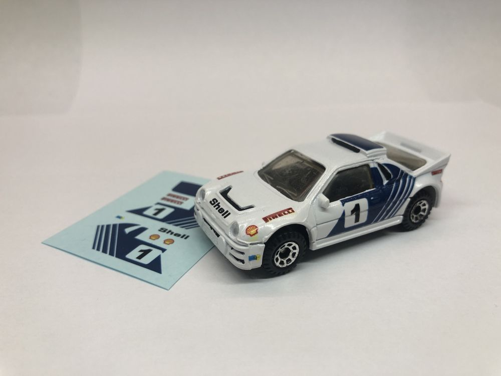 DECALS Ford RS200 Replacement Decals