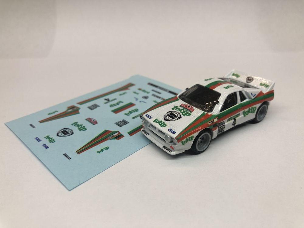 DECALS Lancia 037 Jolly Club