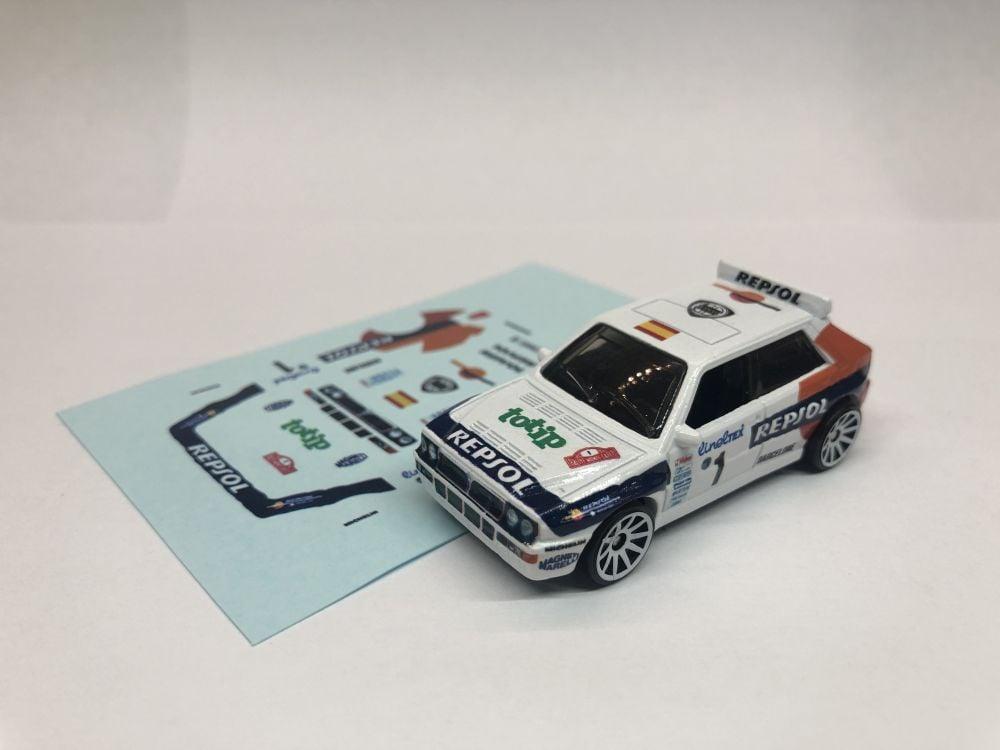 DECALS Lancia Delta - Monte Carlo Rally 1993