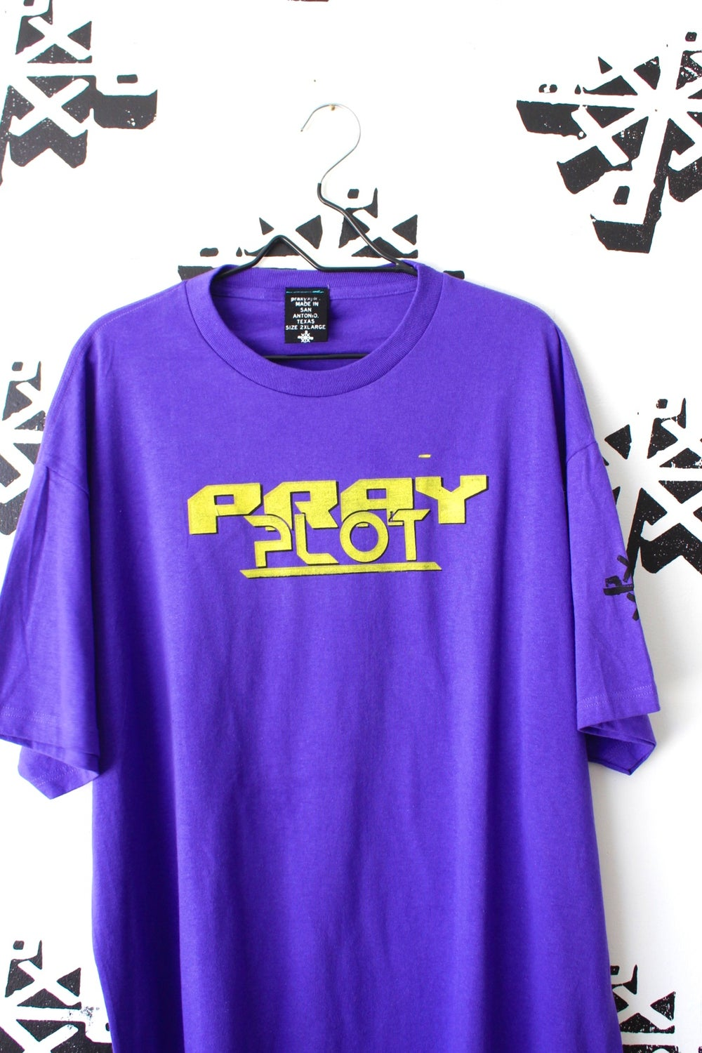 really all over tee in purple