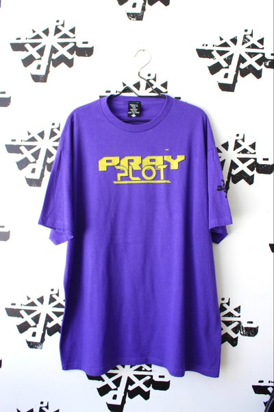 Image of really all over tee in purple