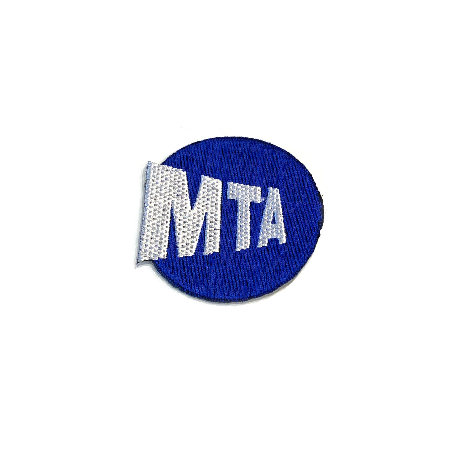 Image of MTA Iron On Patch