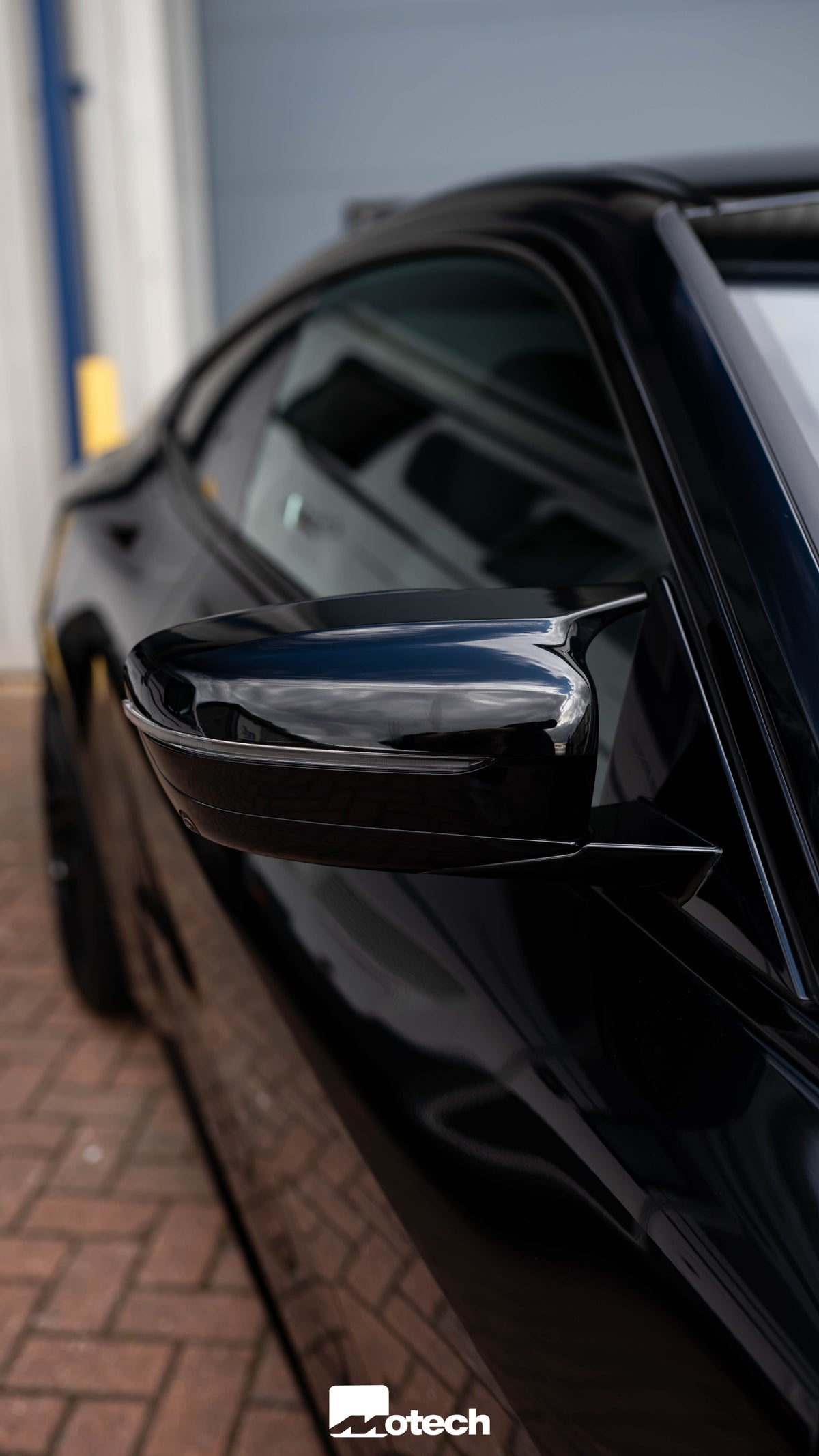 Image of BMW M440i G22 Gloss Black Performance Wing Mirror Covers