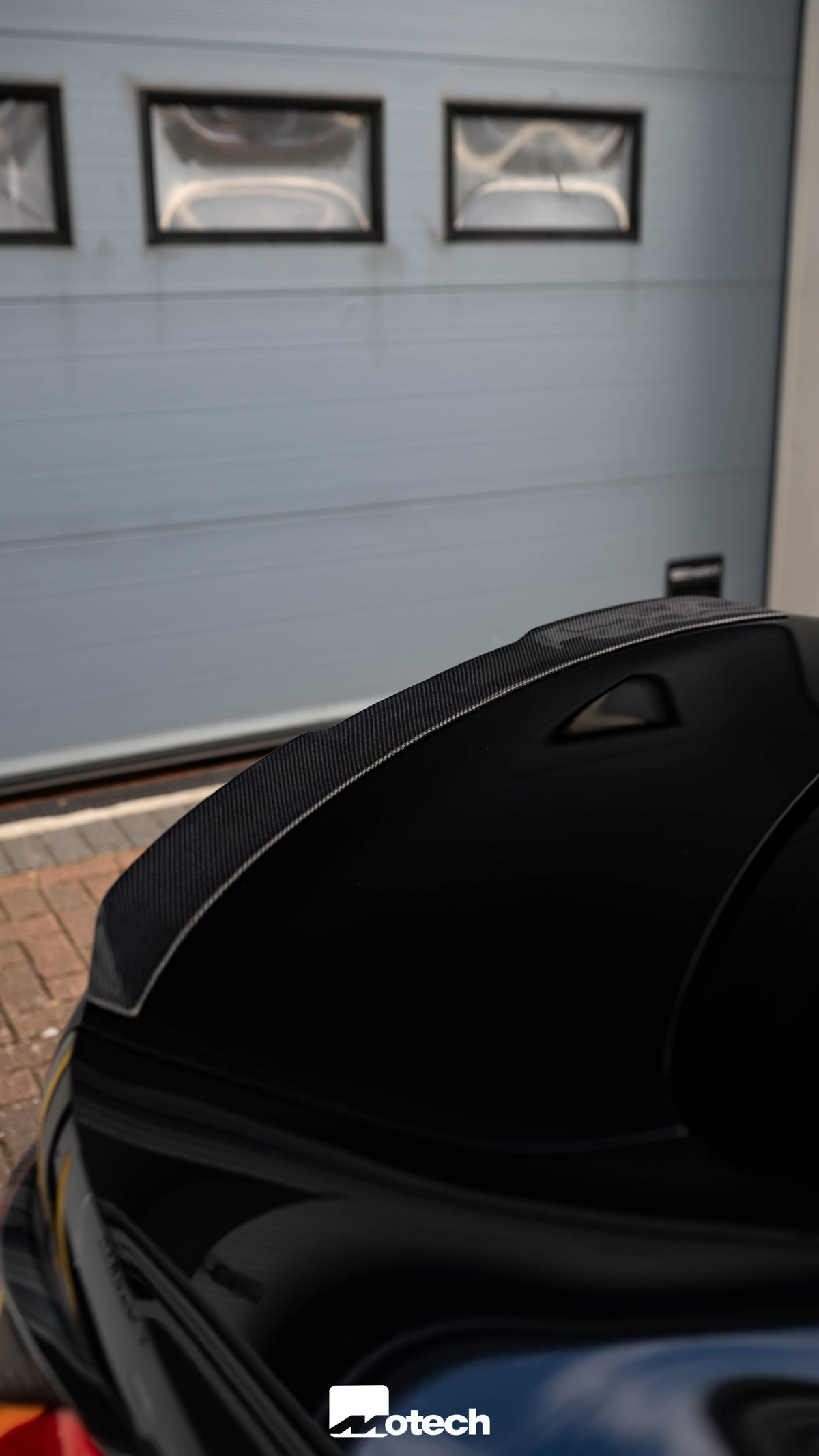 Image of BMW M440i G22 Carbon M4 Style Spoiler