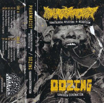 Image of Pharmacist / Oozing - Split Cassette