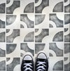 Pascal Tile Stencils for Patios, Floors, Tiles and Walls-Geometric Stencil - DIY Floor Project.