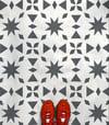 Large Alora Floor Stencil - Moroccan Stencil/DIY project/Repeating design