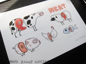 Meat print