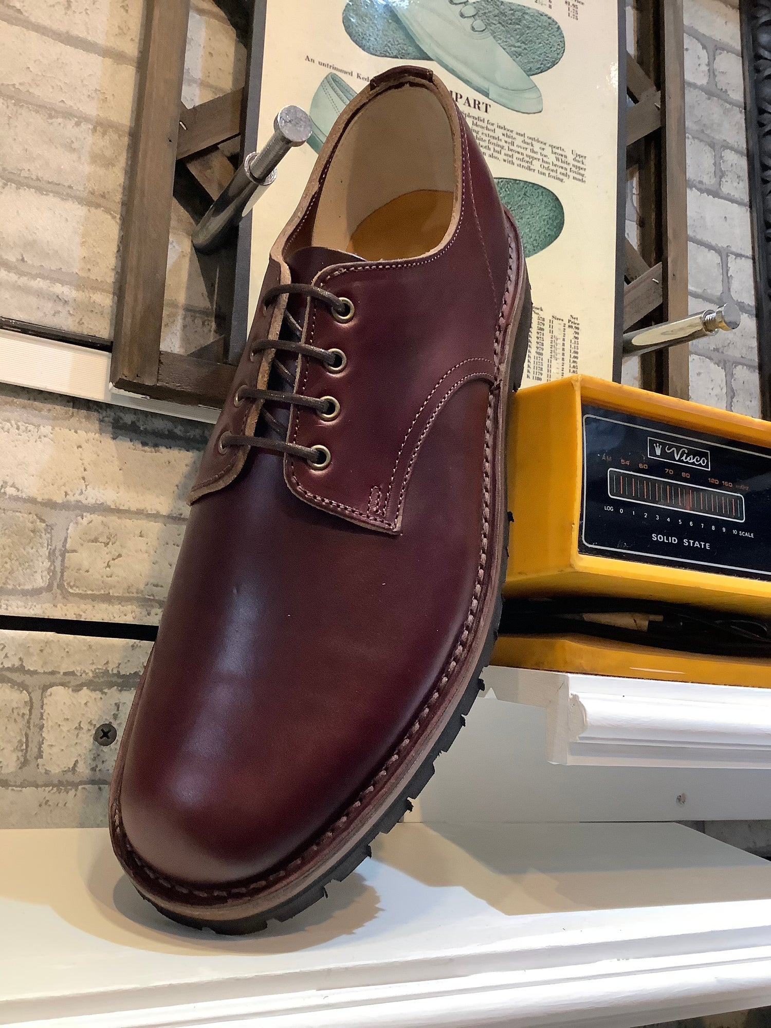 Image of Jadd British desert shoes Horween chromexcel no.8 leather.Made in England