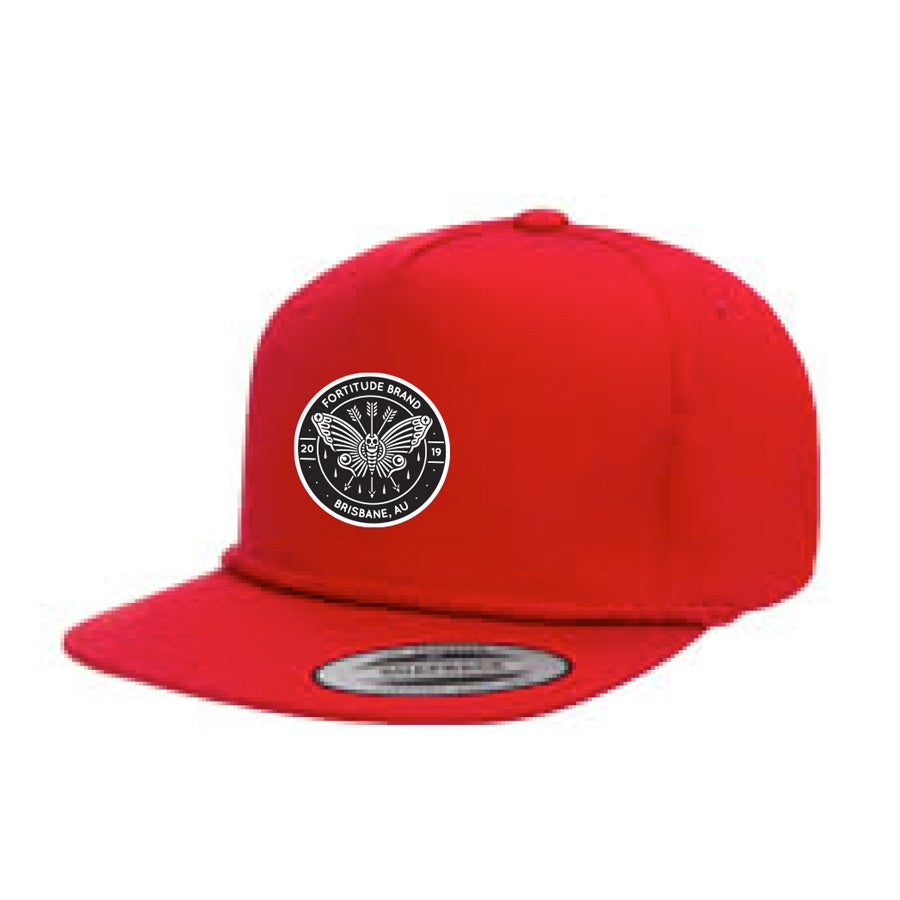 Image of Red Fortitude Golf Hat