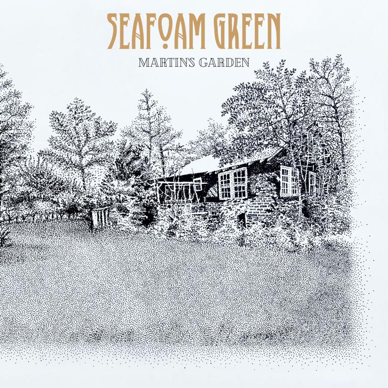 Image of SEAFOAM GREEN - MARTIN'S GARDEN - LP/CD ALBUM