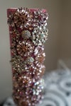"""Pink """"Color Me In Brooches"""" Bouquet Holders"""