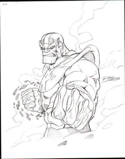 Ron Lim - Custom Commisson Sketch