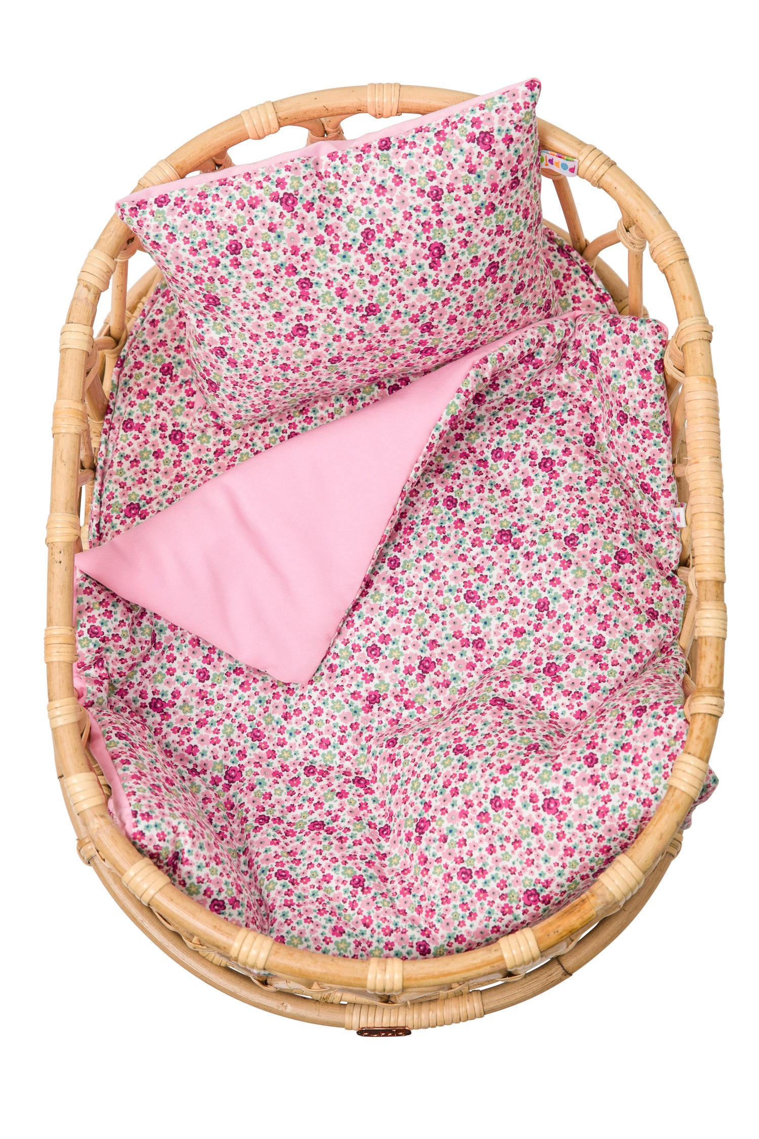 Image of  Poppie Crib Pink Meadow