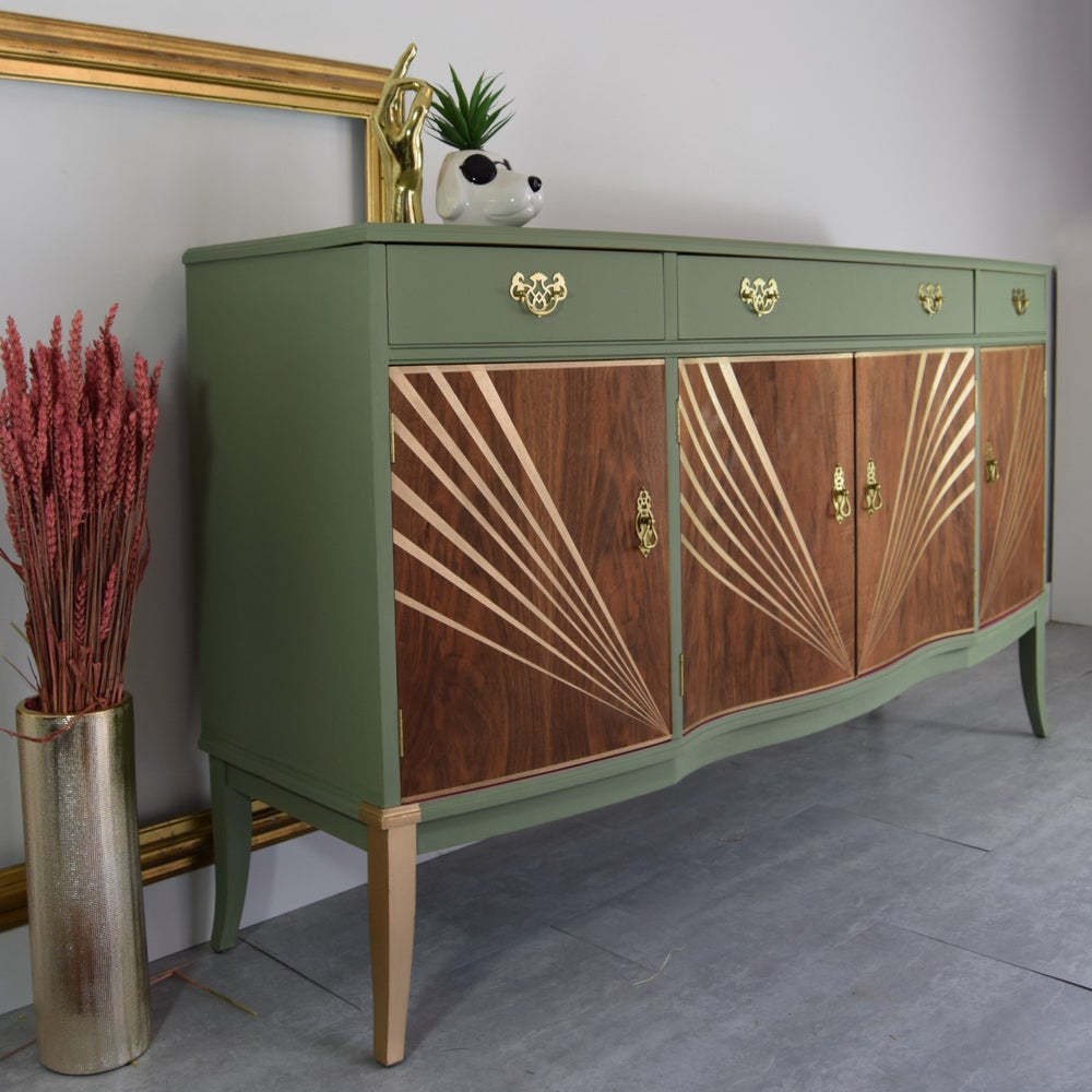 Image of Green Strongbow sideboard