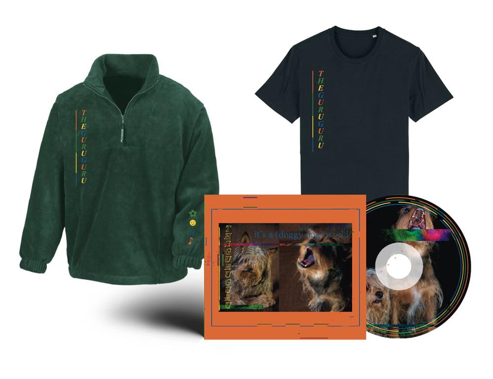 Image of  {PRE-ORDER} - T-shirt + Fleece + EP CD // PACKAGE DEAL
