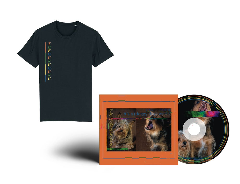Image of {PRE-ORDER} - T-shirt + EP CD // PACKAGE DEAL