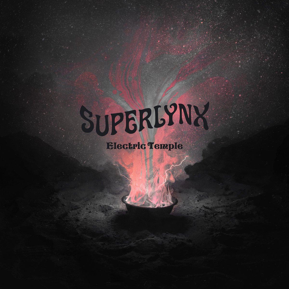 Image of Superlynx - Electric Temple Vinyl LP