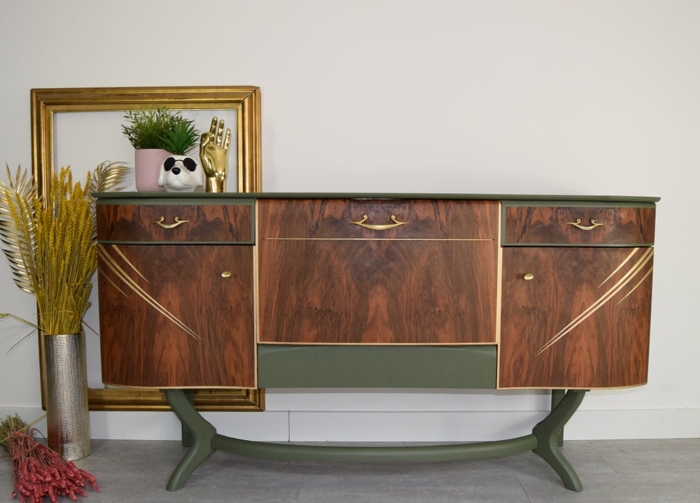 Image of Beautility cocktail sideboard in green