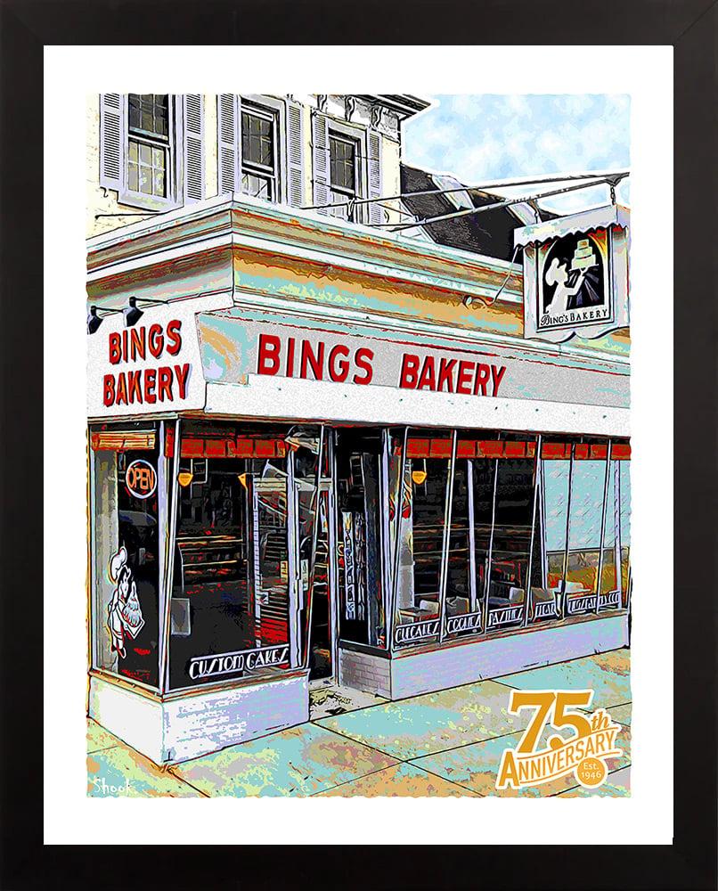 Bing's Bakery, Newark DE Giclée Art Print