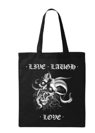 Live Laugh Love Tote