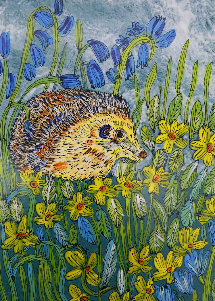 Image of Primroses with Prickles Card
