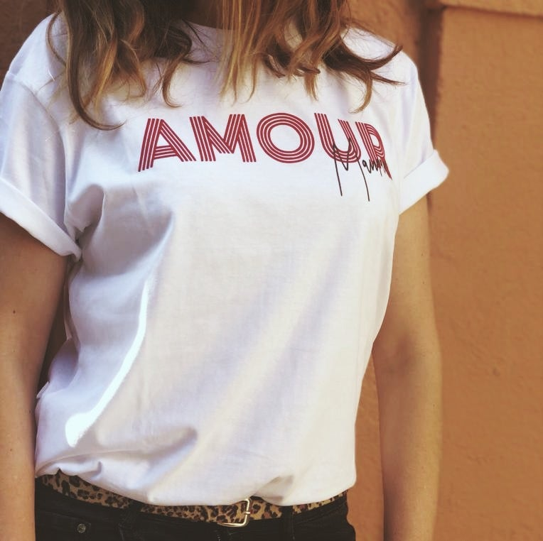 Image of Tee shirt AMOUR maman