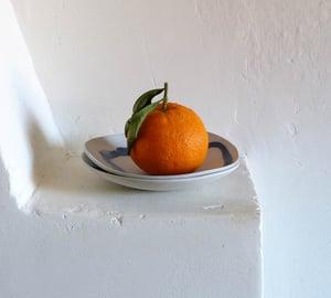 Image of Isabelle René - Petite Assiette Porcelaine / Blanc