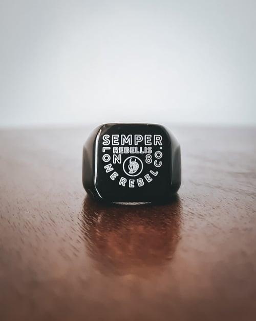 Image of Rebellis Ring Black
