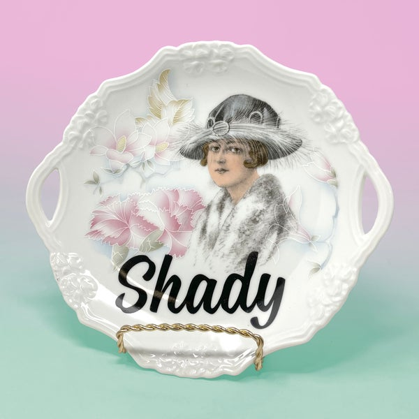 Image of Plates - Shady Ladies