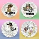 Image 3 of Plates - Shady Ladies