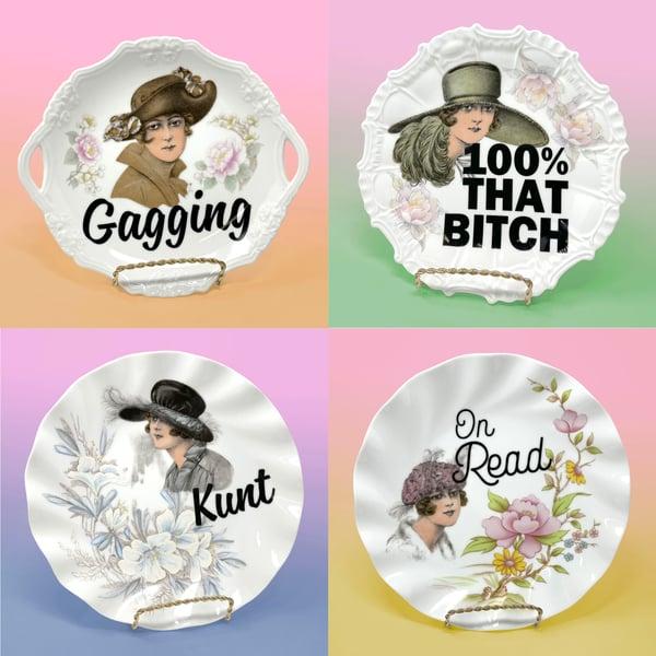 Image of Plates - Shady Ladies