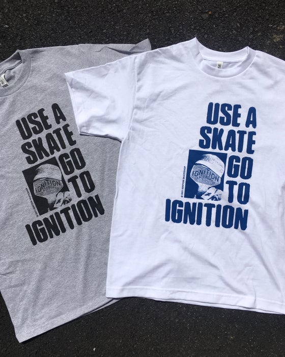Image of USE A SKATE TEE