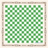 Green Checkerboard Bandana