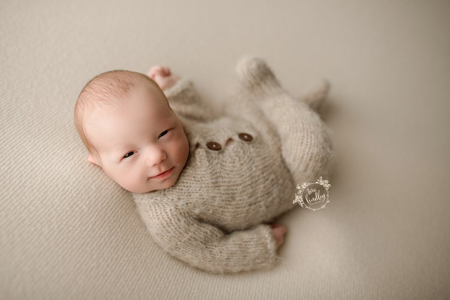 Image of Marcel thick knit beanbag backdrop