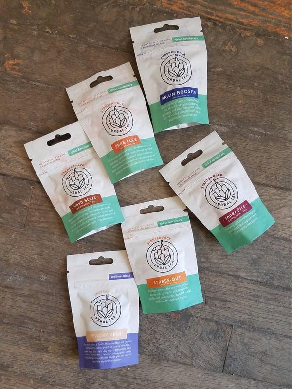 Image of Urbal Tea Starter Packs