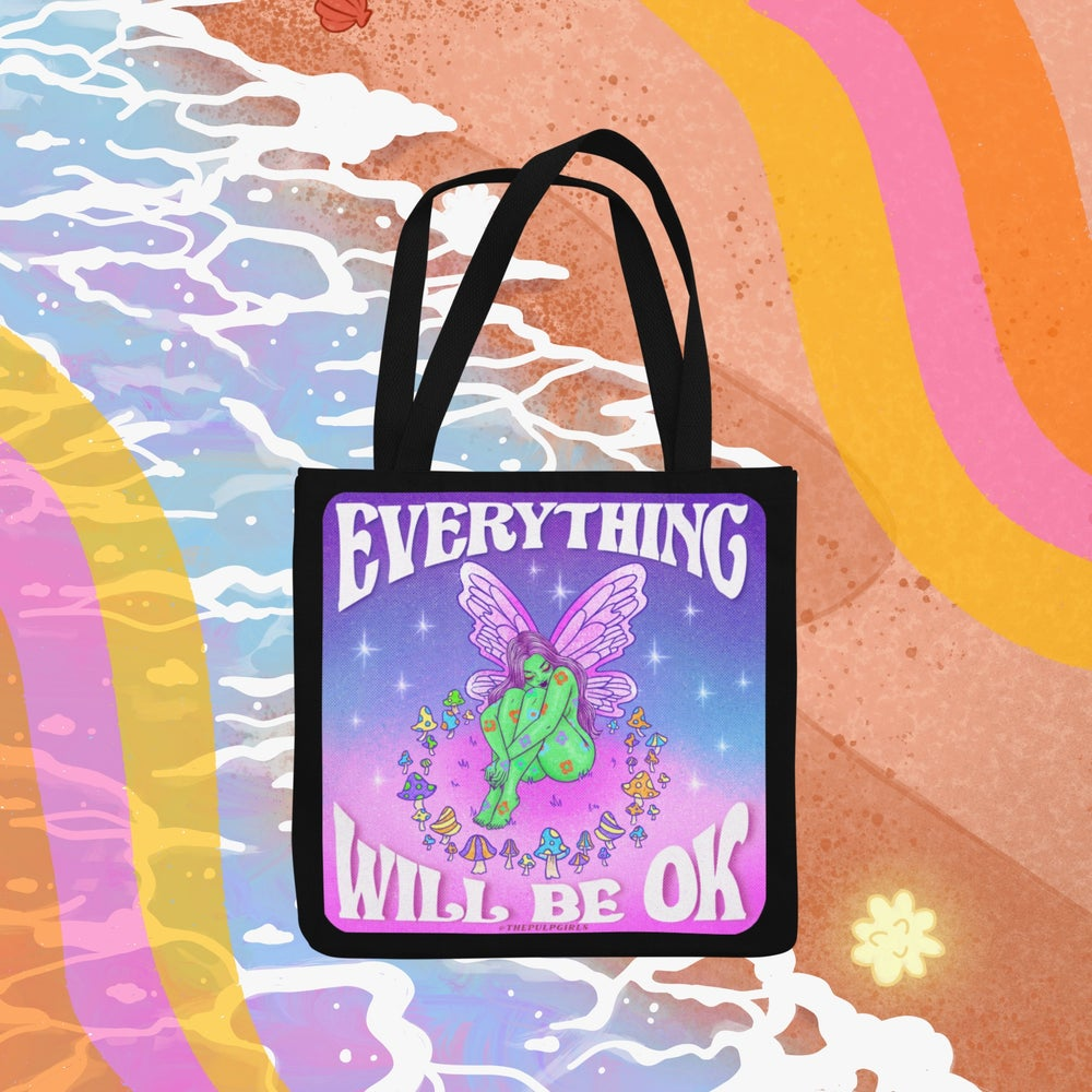 Image of EVERYTHING WILL BE OK TOTE