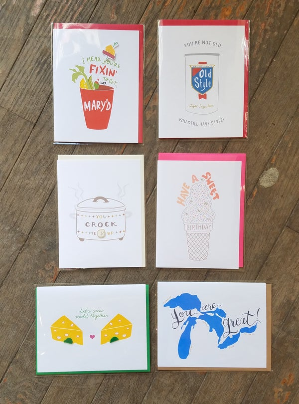 Image of Variety of Cards by Cracked Designs