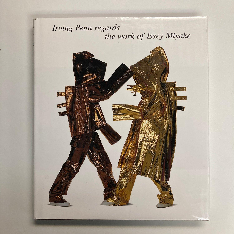 Image of Irving Penn regards the work of Issey Miyake