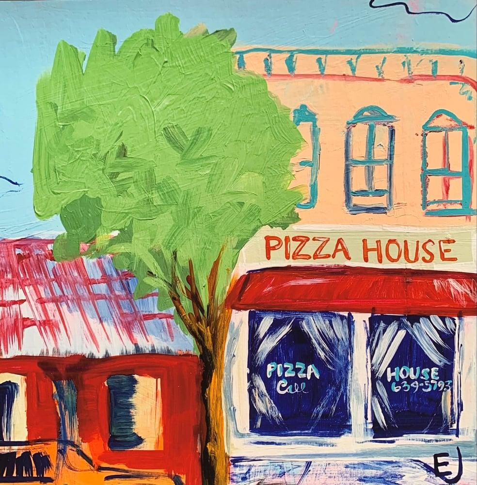 Image of Pizza House, Radford Print