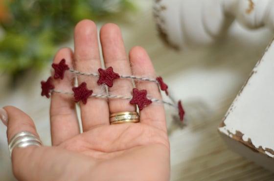 Image of Embroidery stars headband