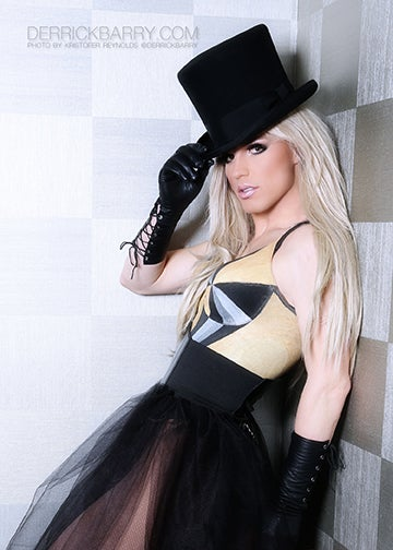 """Image of Derrick Barry Signed 5""""x7"""" Metallic Photo by Kristofer Reynolds"""